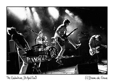 The Galacticos @ The Next Big Thing III: Cactusclub, 24 April 2009 (copyright Bram de Greve)