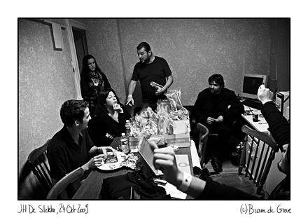 Jury and crew, Westtalent @ JH De Slekke, 24 oktober 2009